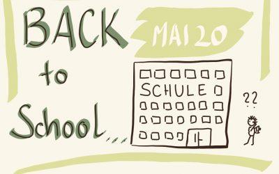 Corona-Ferien Part08 – Back To School? Gedanken zur Wiedereingliederung in einen neuen Alltag mit Kindern.